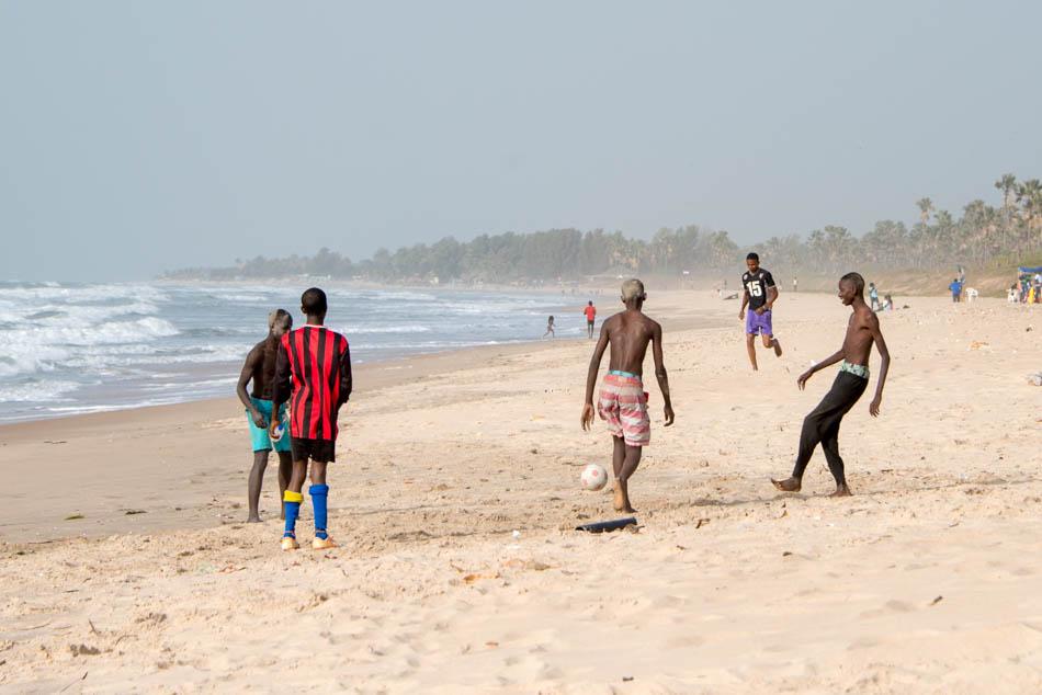 strand Serekunda Gambia