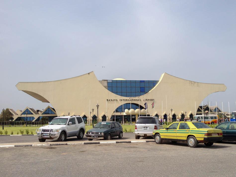 Banjul Airport Gambia
