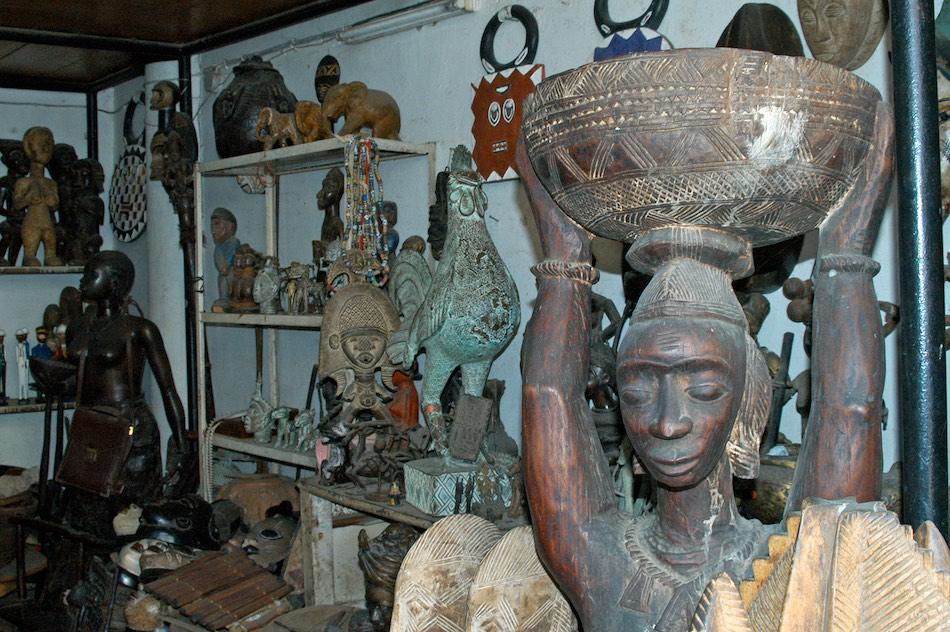 Markt Dakar Senegal