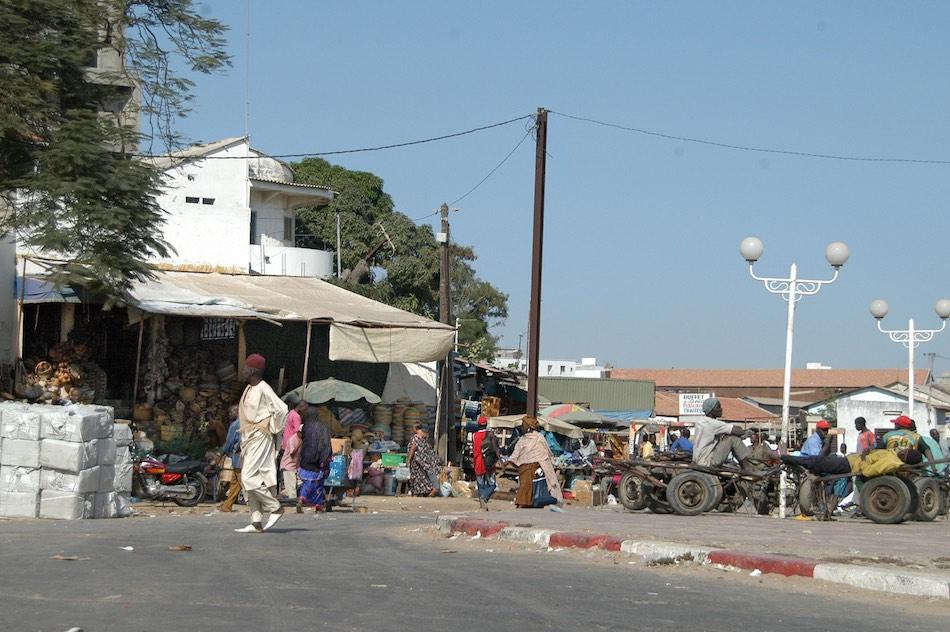 straat Dakar Senegal
