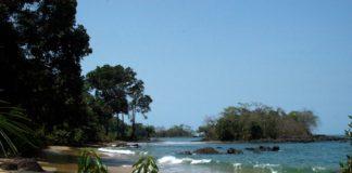 Black Johnson Beach Freetown Sierra Leone