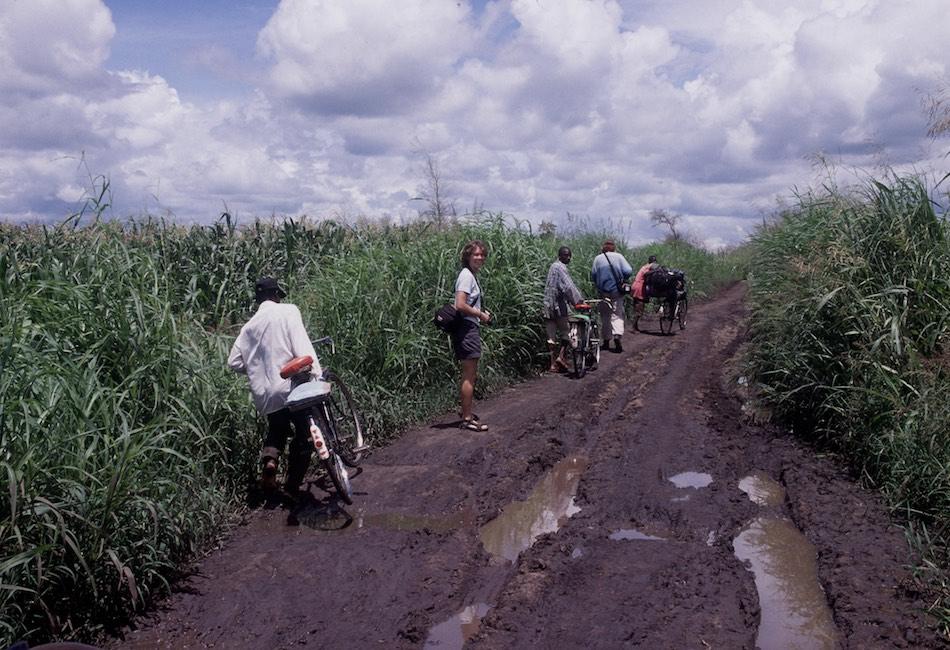 Liwonde national park fietstaxi Malawi