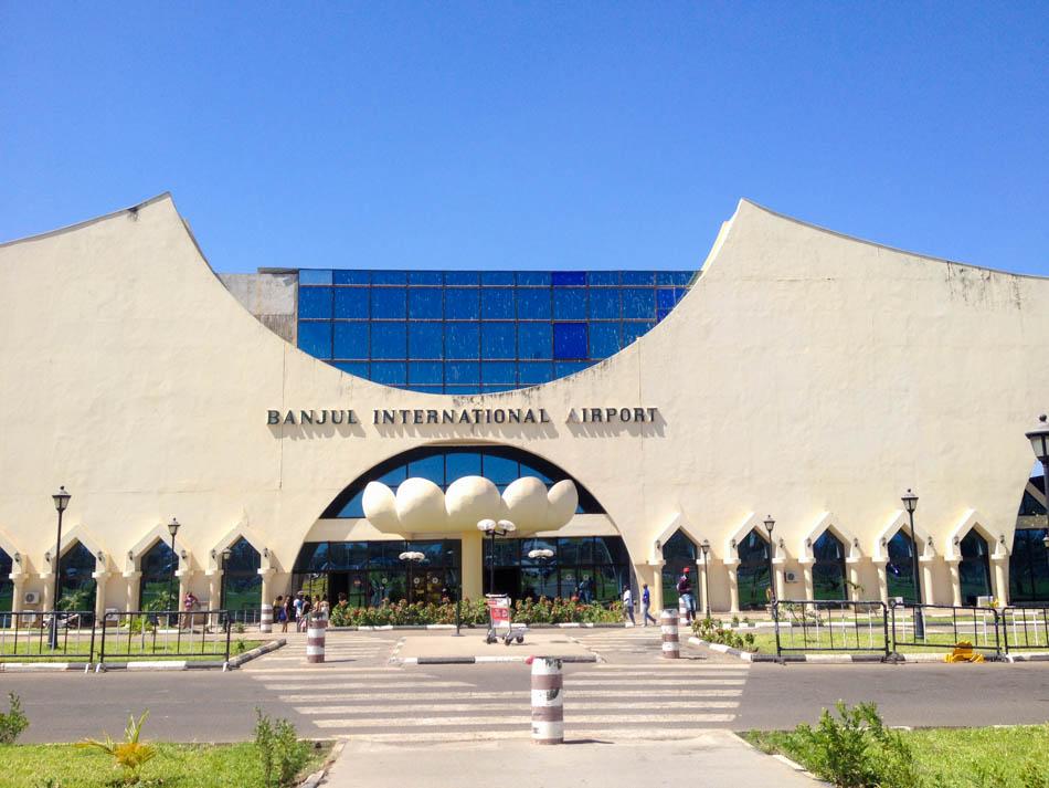 Banjul Yundum airport Gambia