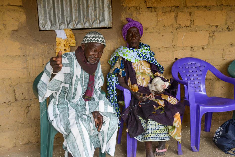 Chef de Village Kiitty niafrang Casamance Senegal