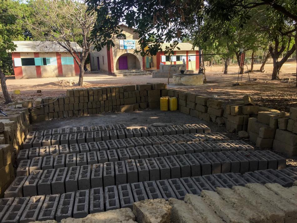 blokken voor school niafarang Senegal