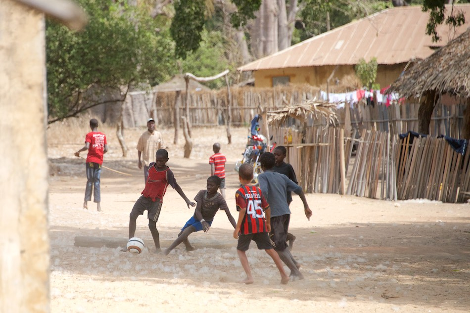 Voetbal Niafrang Casamance Senegal