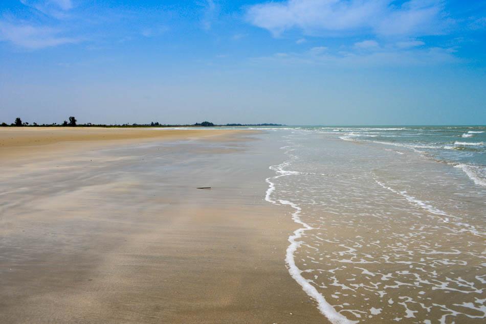 strand niafrang Casamance Senegal