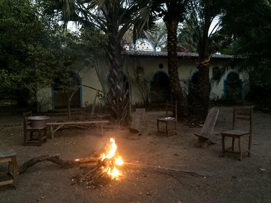 fire in the bush Niafarang Senegal