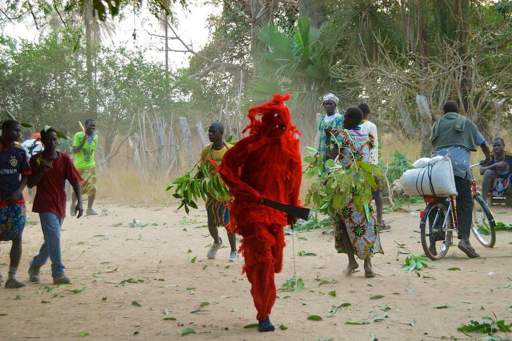 Kankurang ceremonie Niafrang Senegal