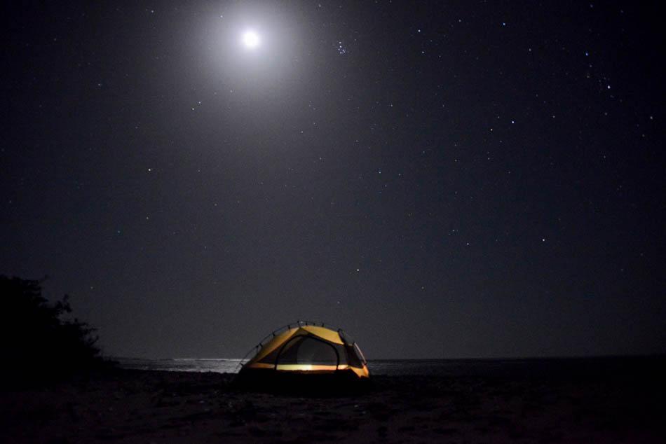strand Niafarang in Senegal.