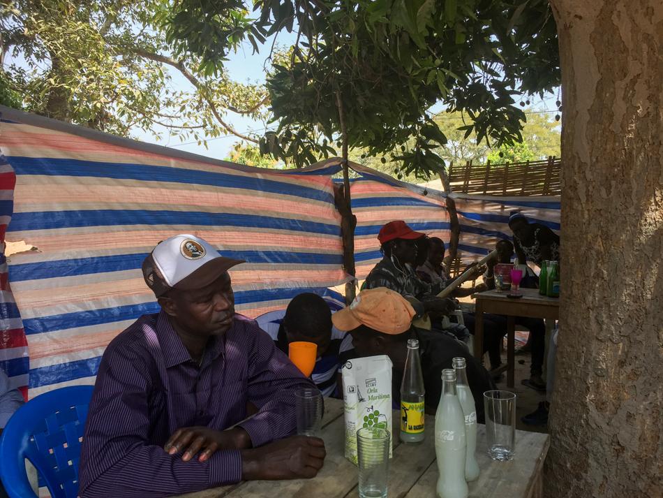 Thionk Essyl palmwine bar Senegal