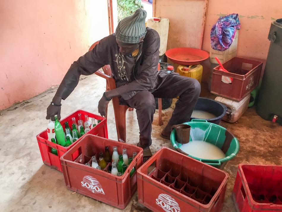Thionk Essyl palmwijn Senegal
