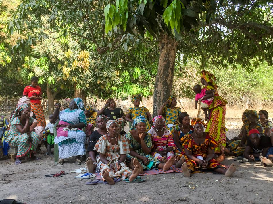 Thionk Essyl afscheidsceremonie Senegal