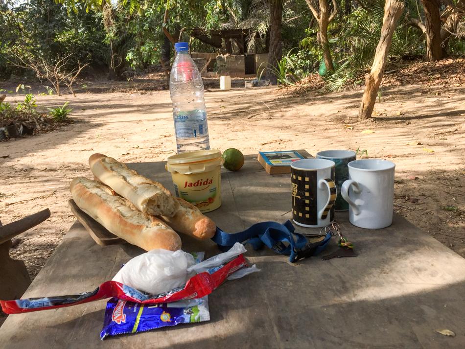 Ontbijt Niafrang Senegal