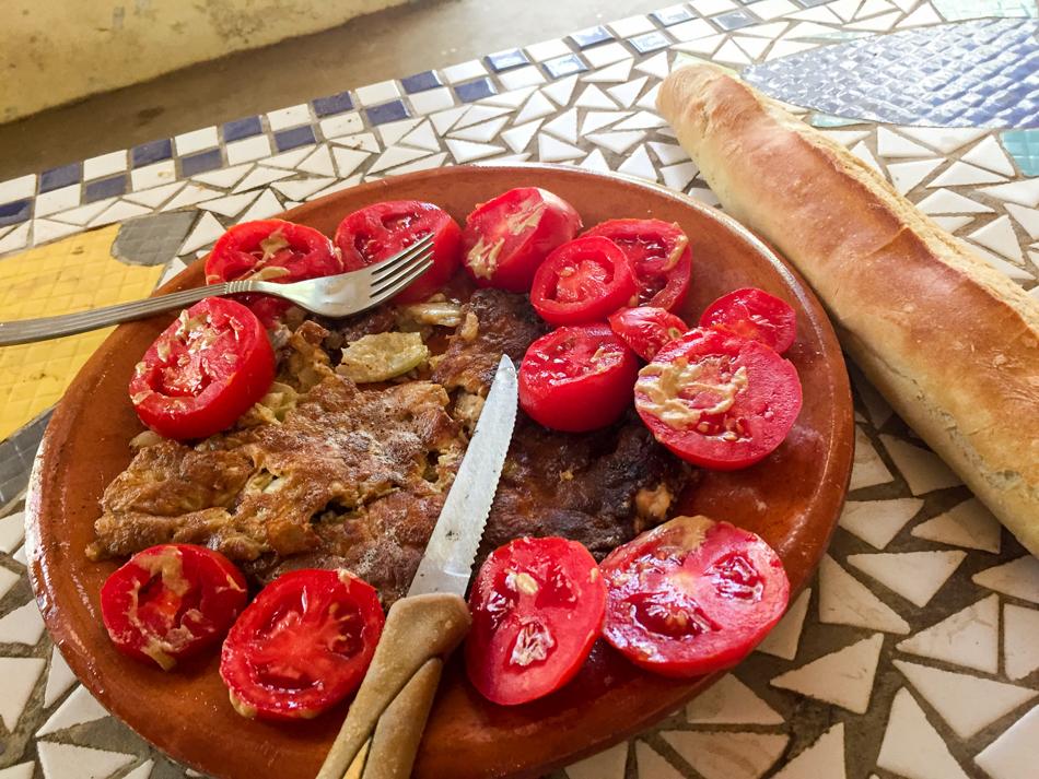 Omelet Niafarang Casamance Senegal