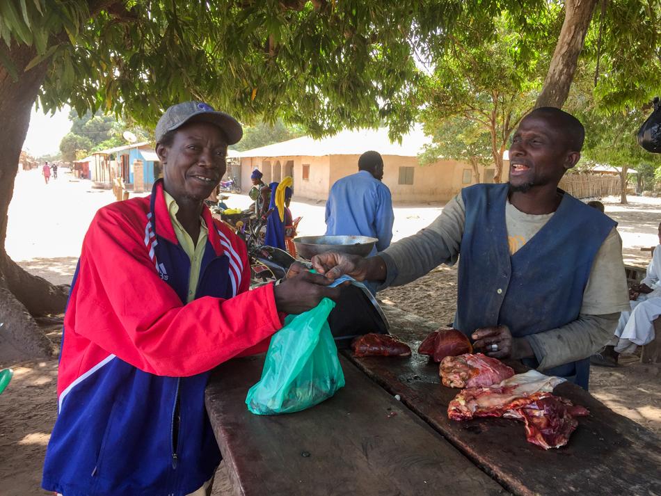 Kbadio slager Casamance Senegal