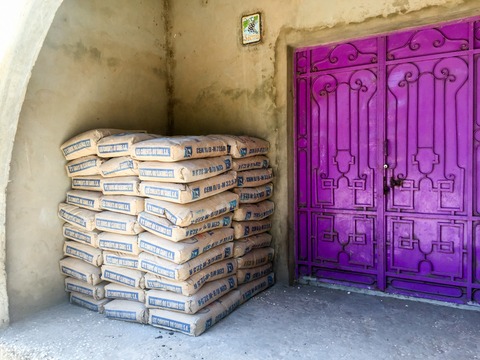cement school Niafrang Senegal
