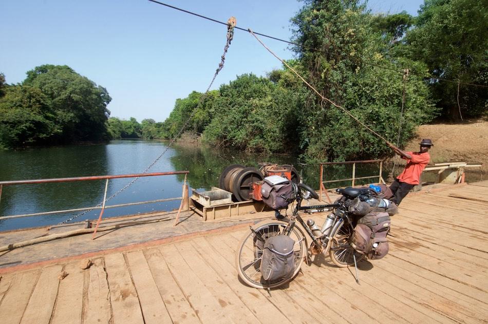 Fouta Djalon Guinee pont