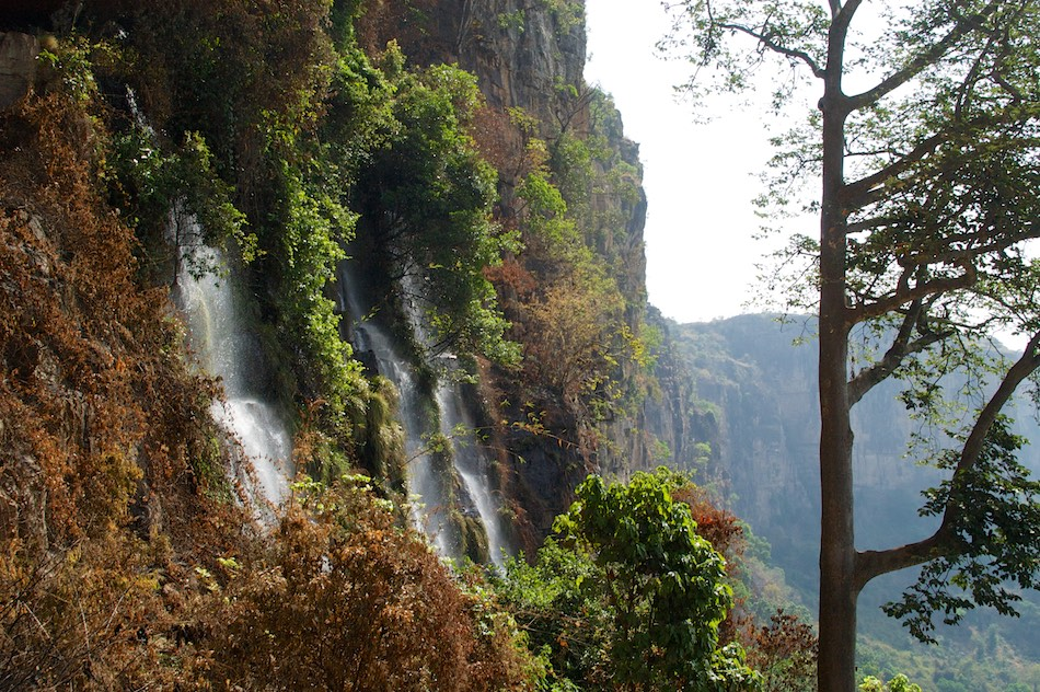 Fouta Djalon Guinee waterval