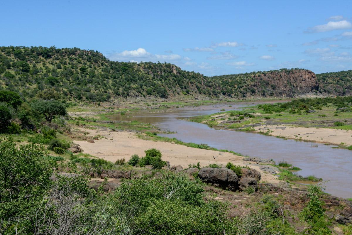 Krugerpark Zuid Afrika Olifantsrivier