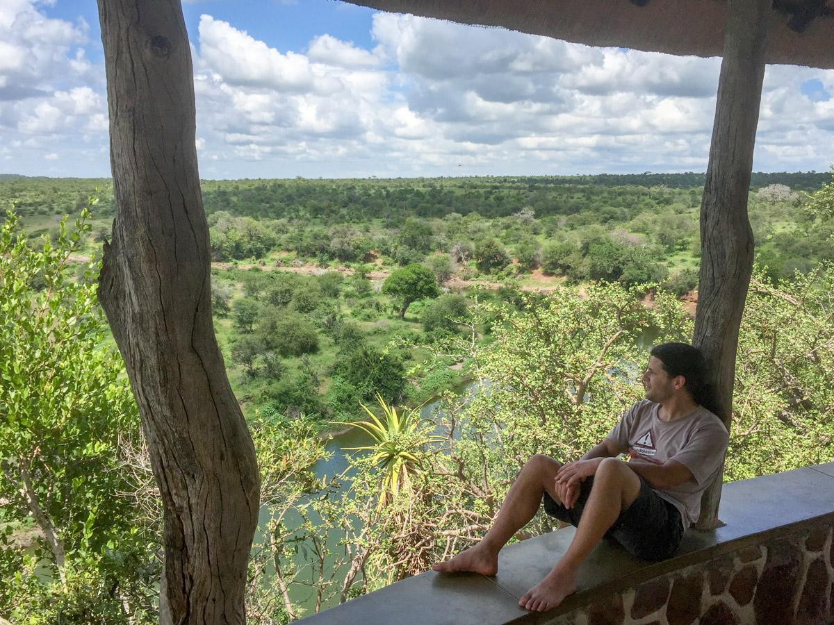 Krugerpark Zuid Afrika uitkijkpost