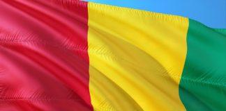 De vlag van Guinee