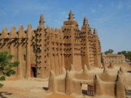 Grote moskee Djenné Mali