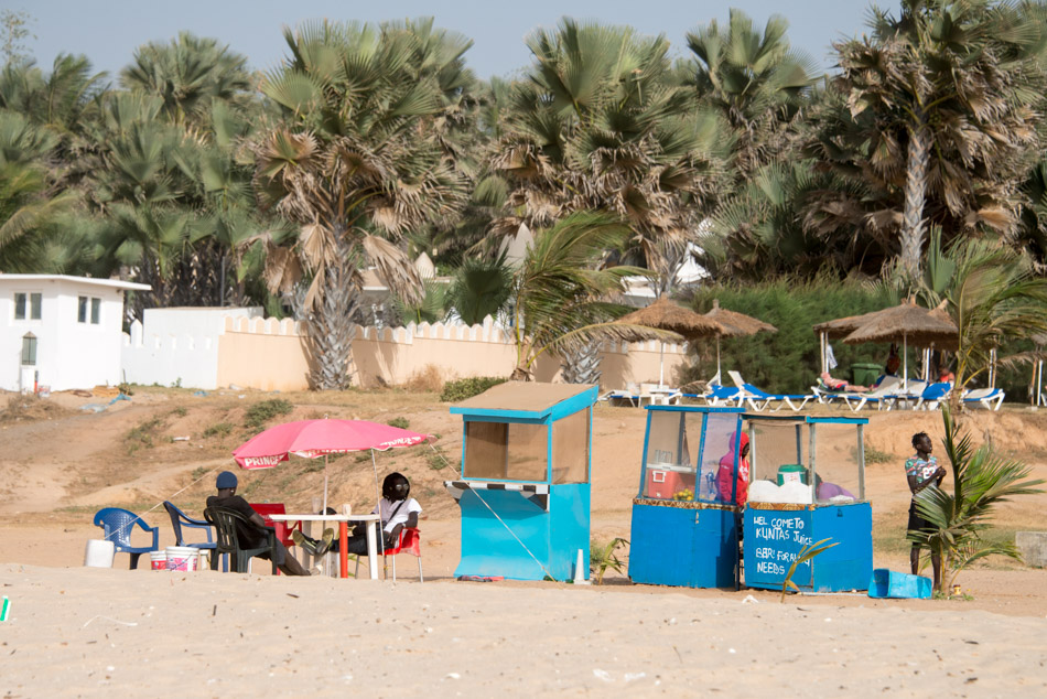 Kololi Gambia beachbar