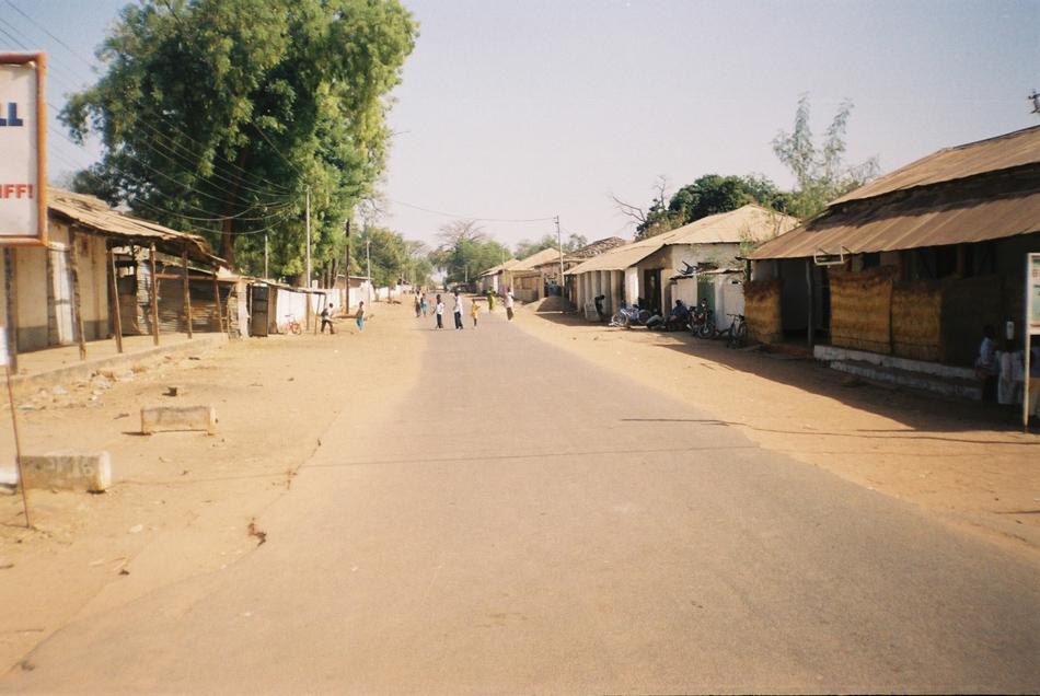 Straat in Janjanbureh