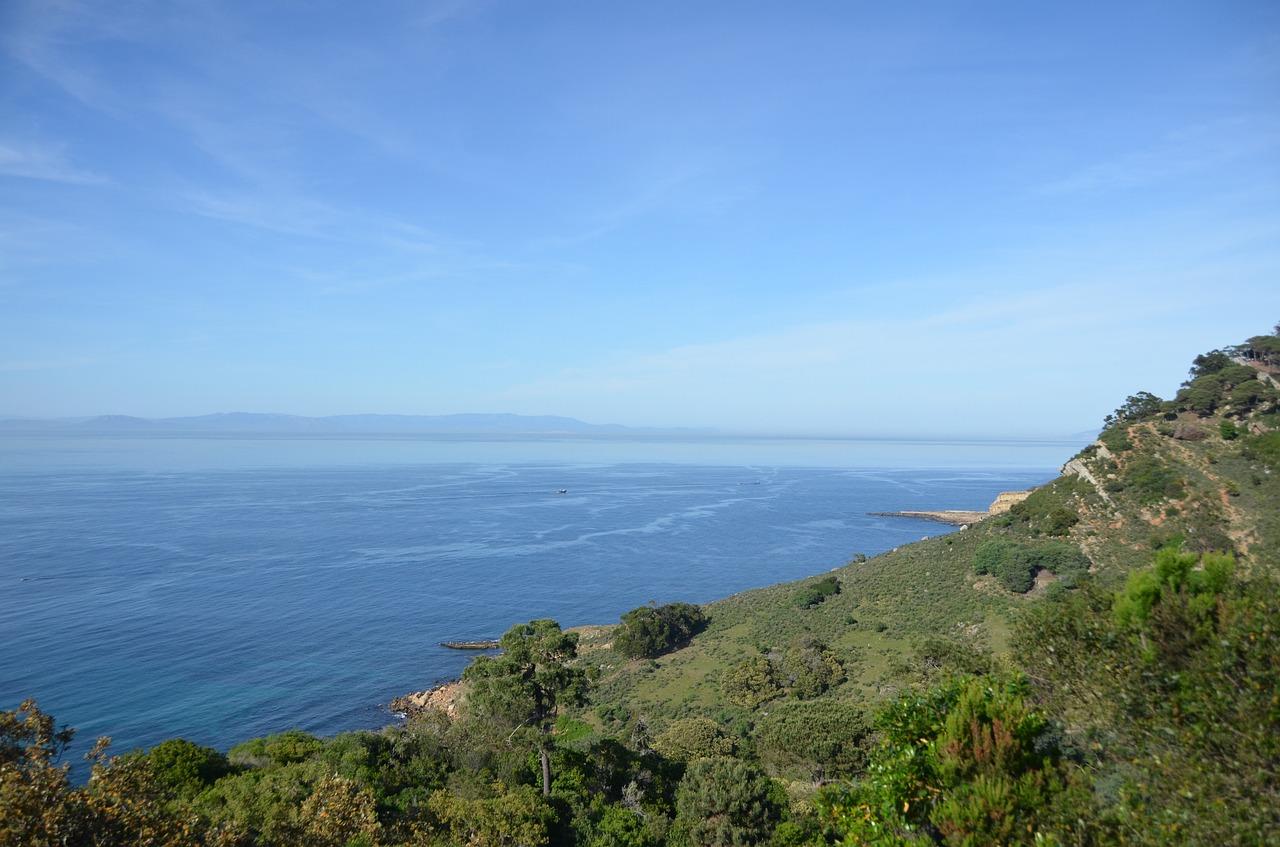 Uitzicht op zee Tanger
