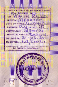 Visum Mali