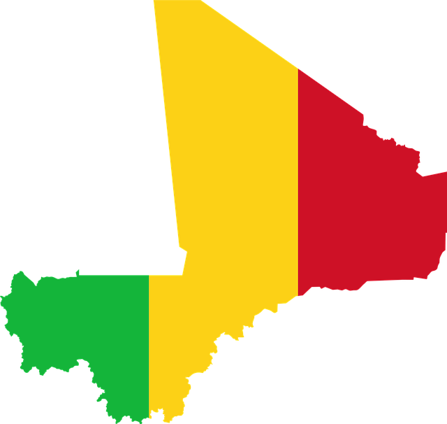 Vlag Mali stunningtravel