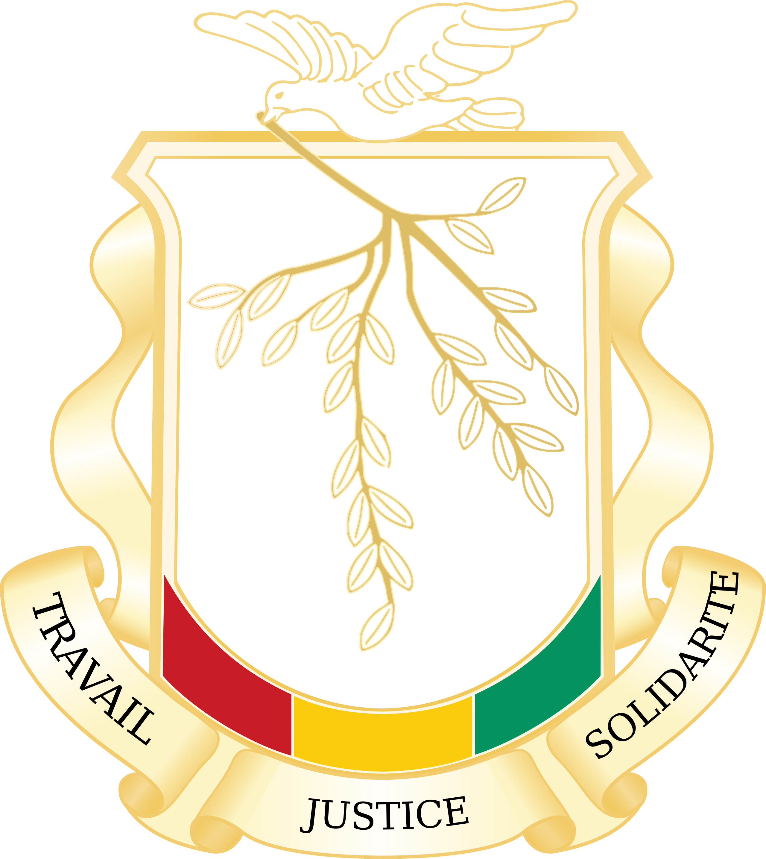 Wapenschild Guinee