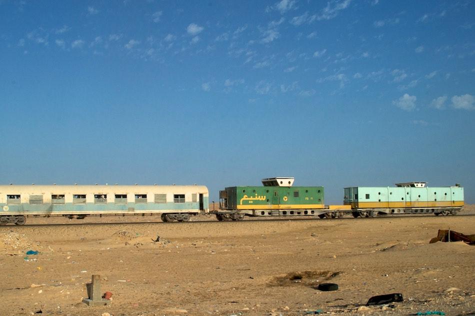 passagierswagon ijzererts trein mauritanie
