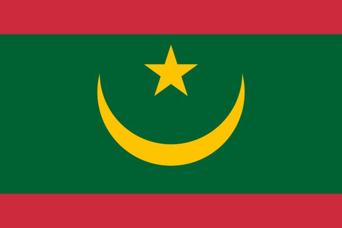 Vlag Mauritanië