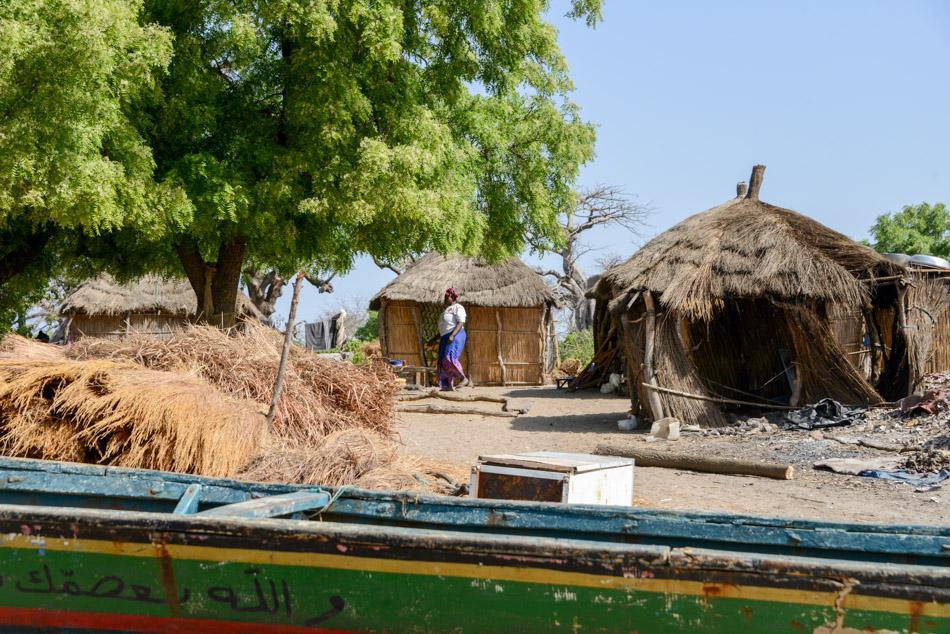 Dorpje Guinee Bissau Cacheu