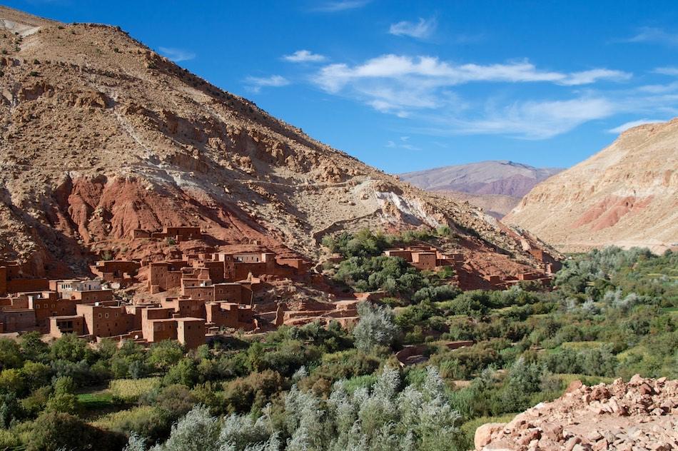 Draa vallei oase marokko