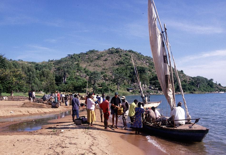 Likoma Island Malawi Dhow