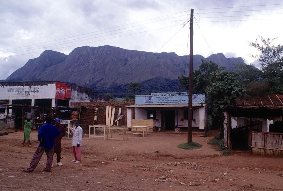 Mulanje town Malawi