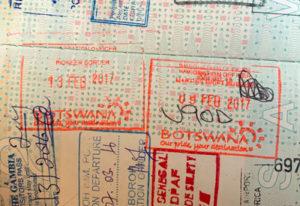 Visum Botswana