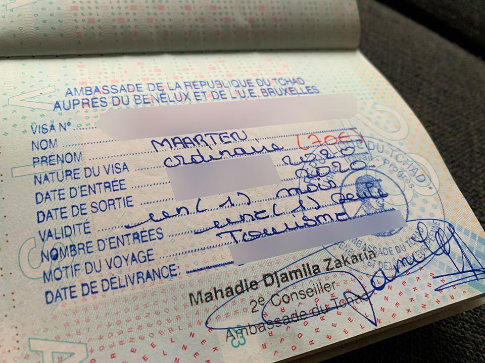 Visum Tsjaad