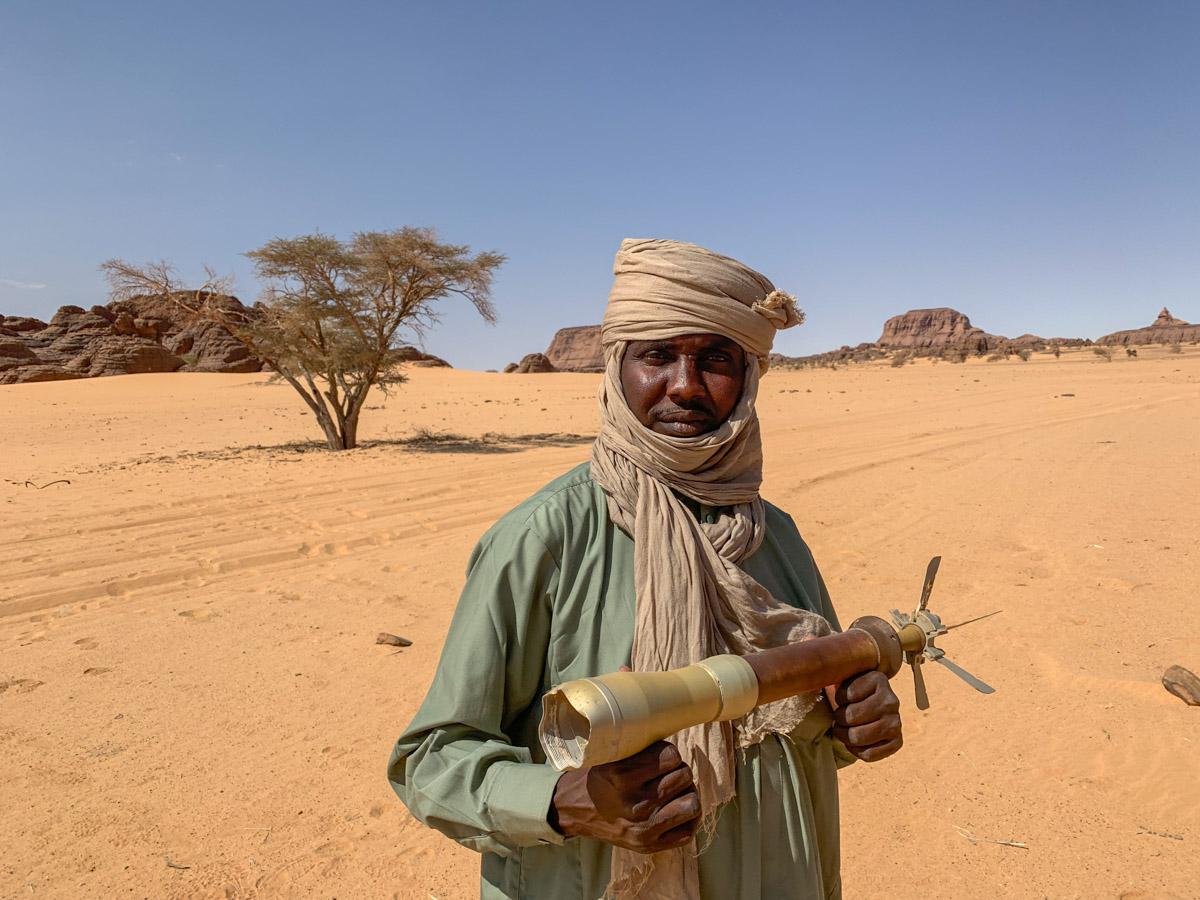 Ennedi Tsjaad Toyota oorlog