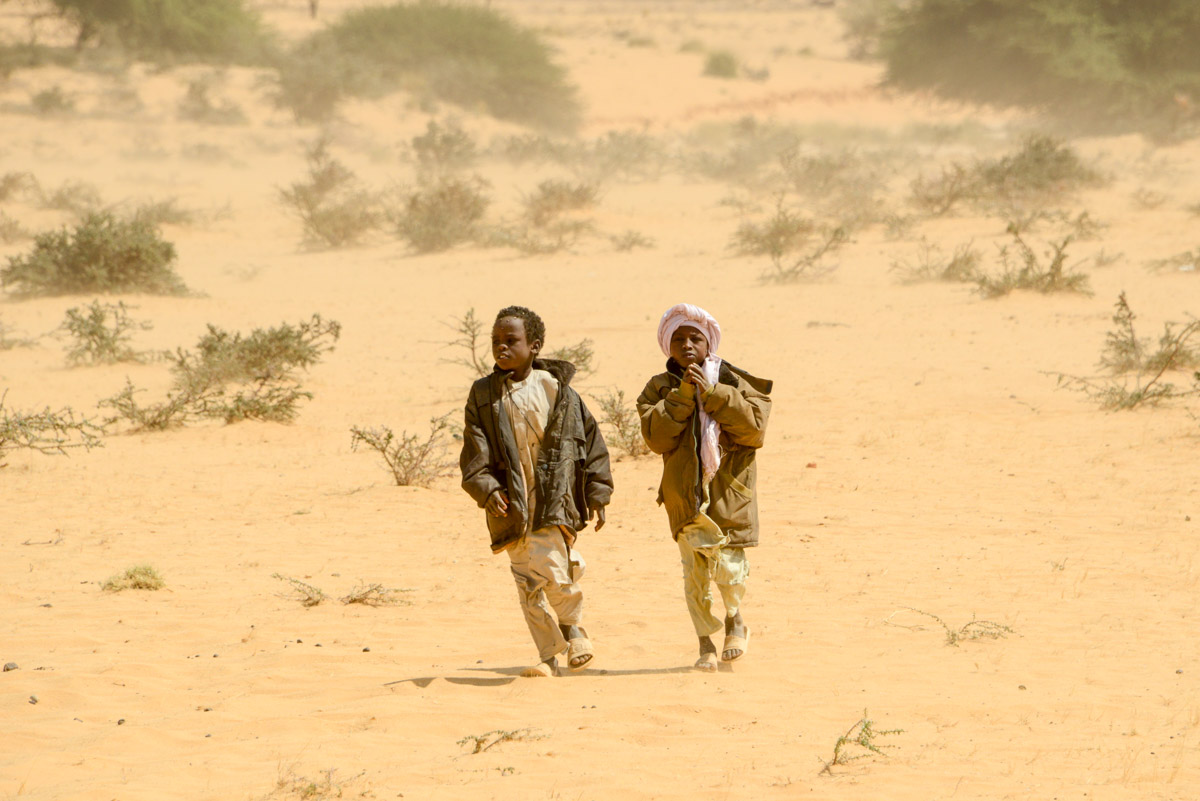 Ennedi Tsjaad nomaden