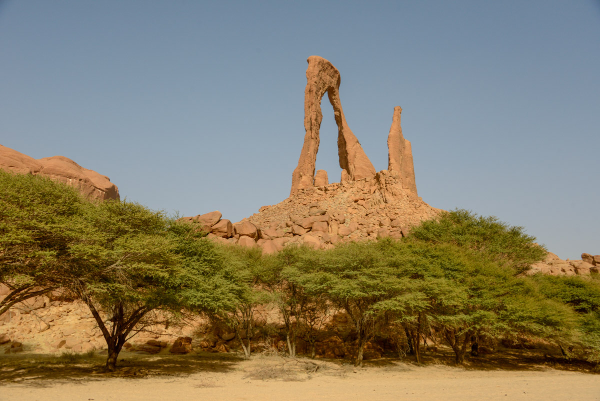 Ennedi Tsjaad rotsformatie