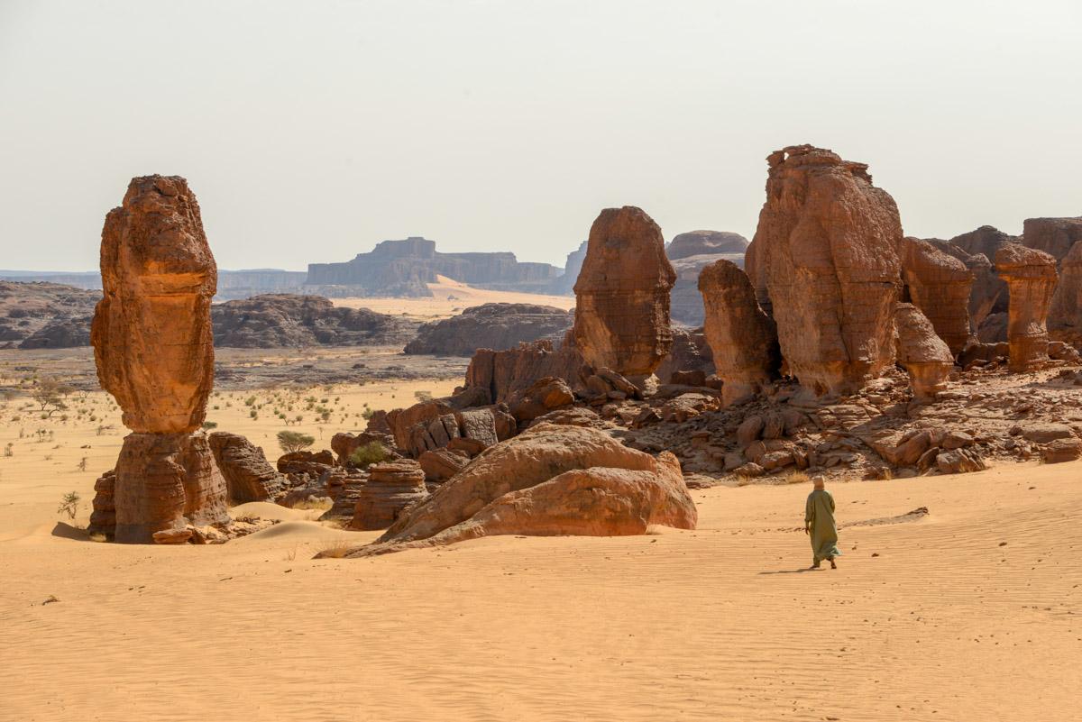 Ennedi Tsjaad rotsformaties