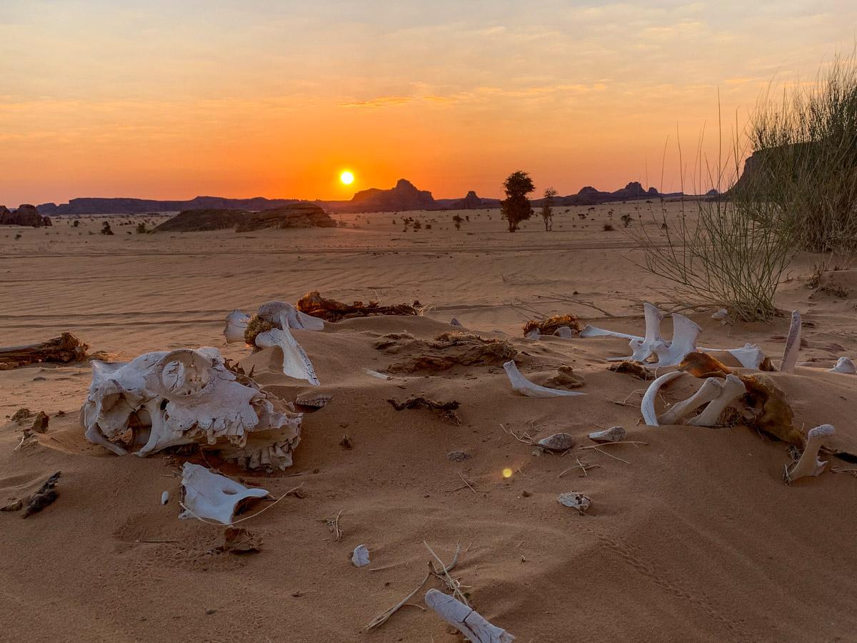 Ennedi Tsjaad zonsopkomst
