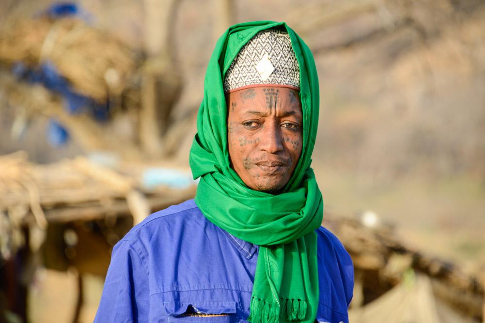 Fulani Bororo Tsjaad chief