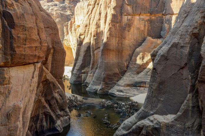 Guelta d'Archei Ennedi Tsjaad