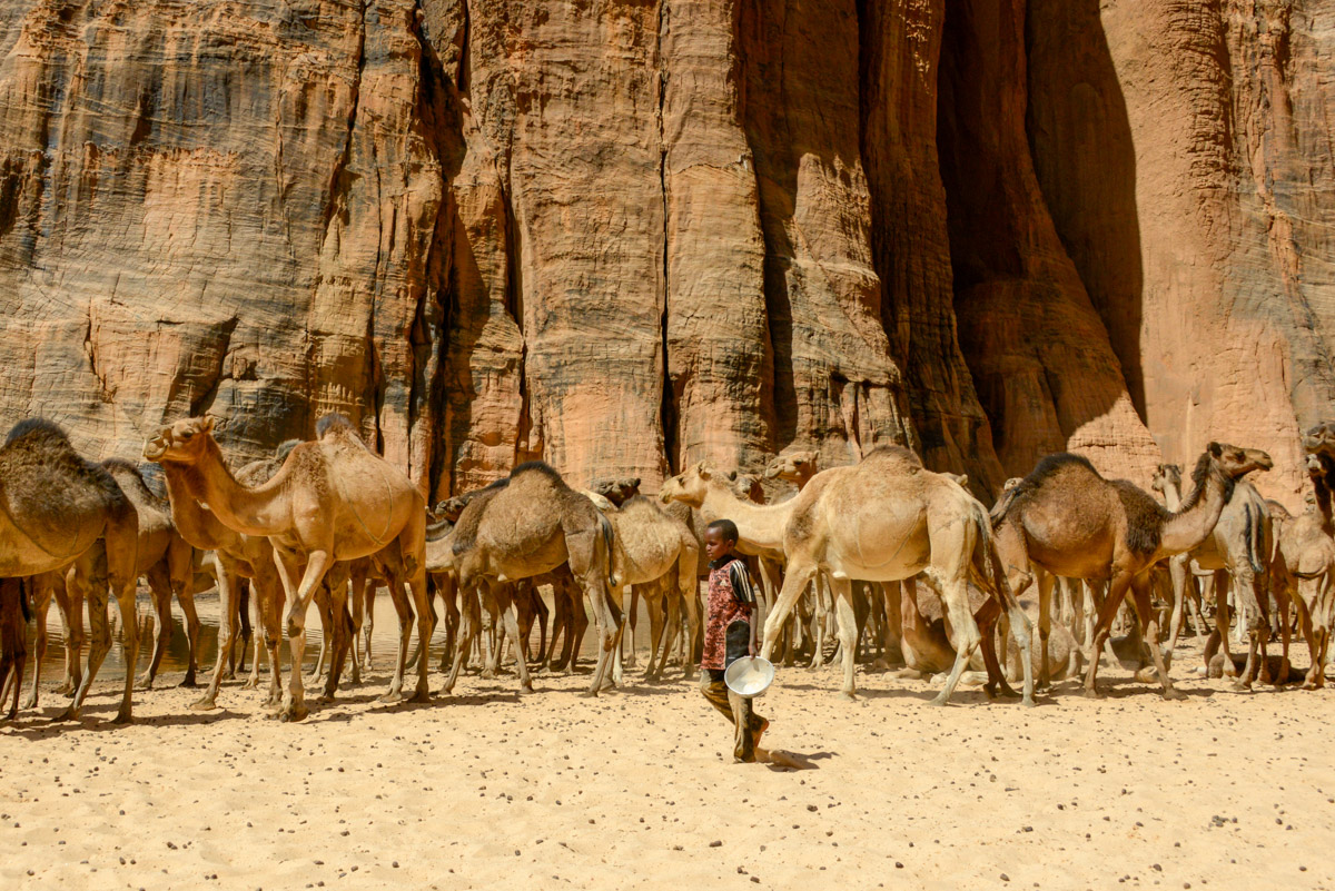 Guelta d'Archei Ennedi nomaden