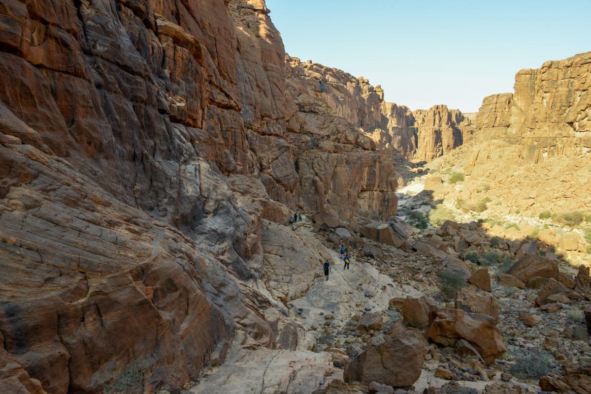 Guelta d'Archei Ennedi wandeling